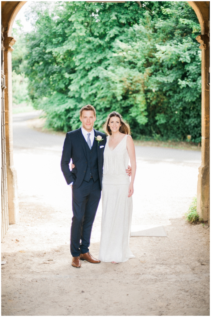Georgia & Rupert – Stanway House Tithe Barn