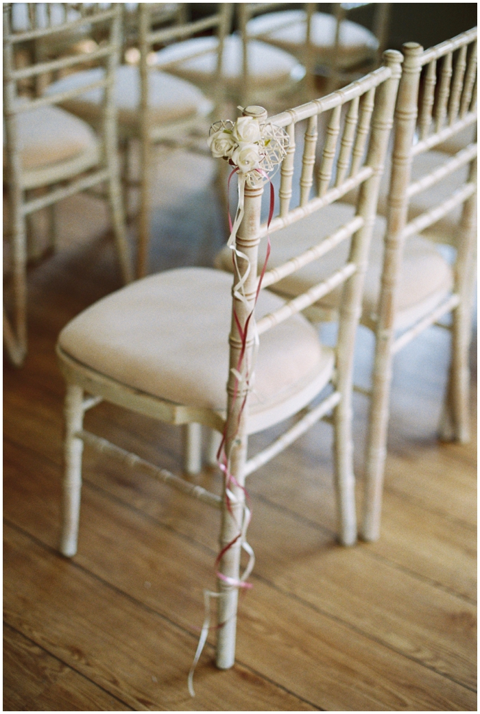 rustic chairs for wedding ceremonies at the moonraker hotel