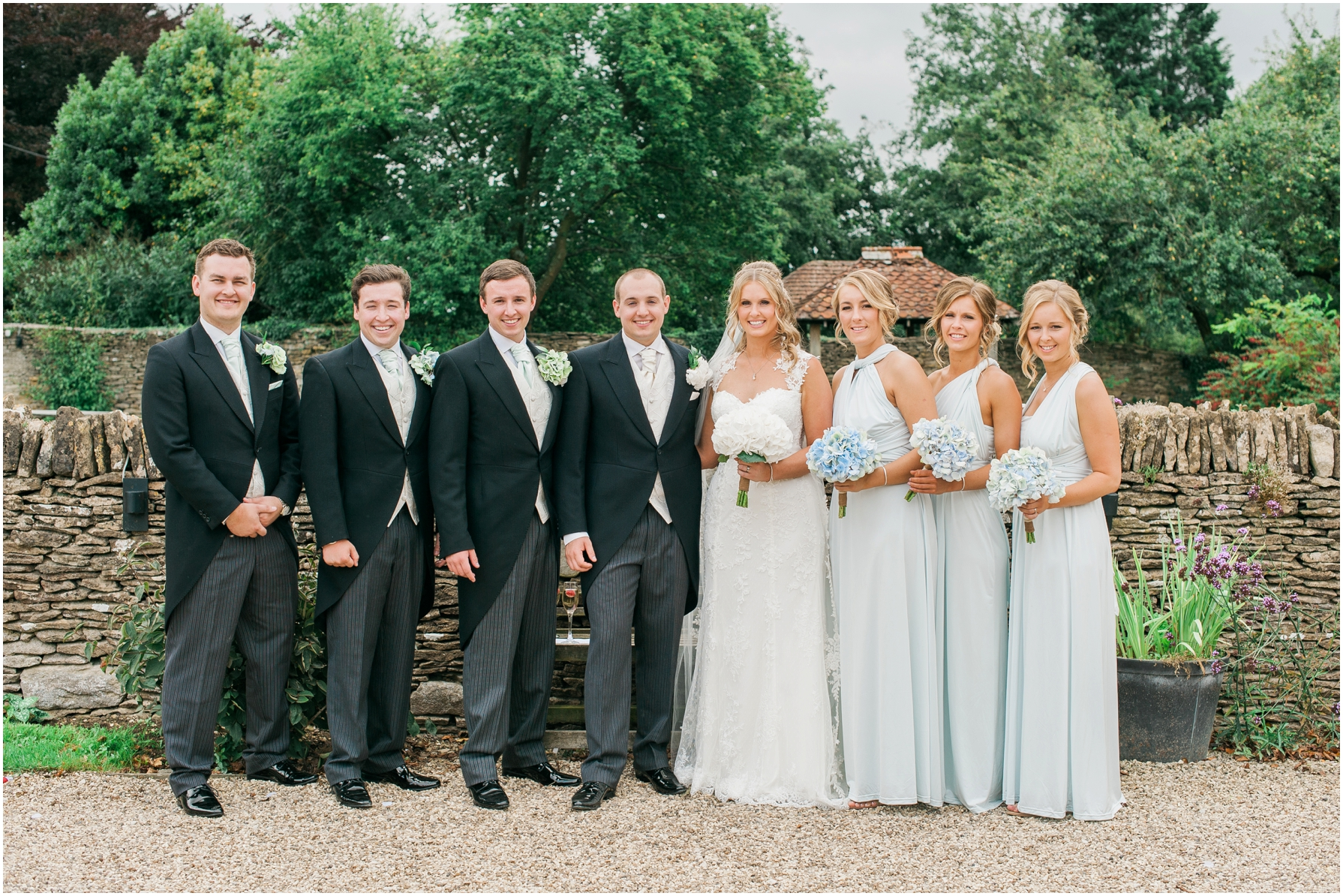 formal group photos at the great tythe barn