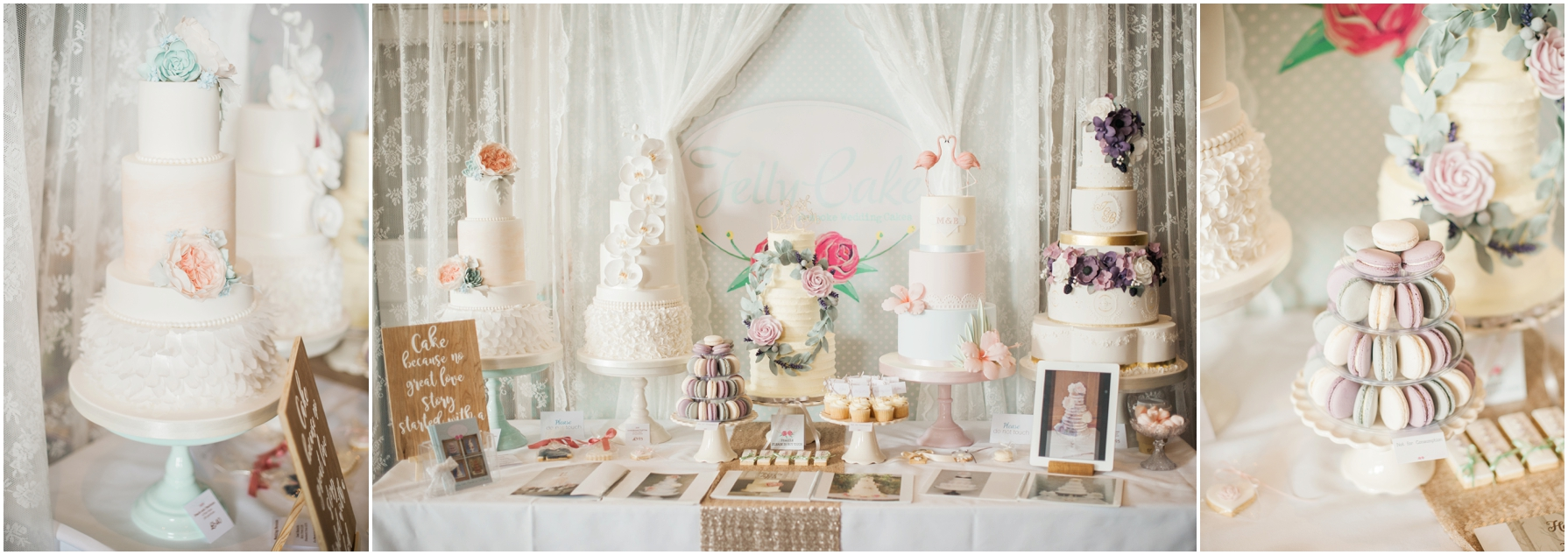 jelly cake wedding cakes