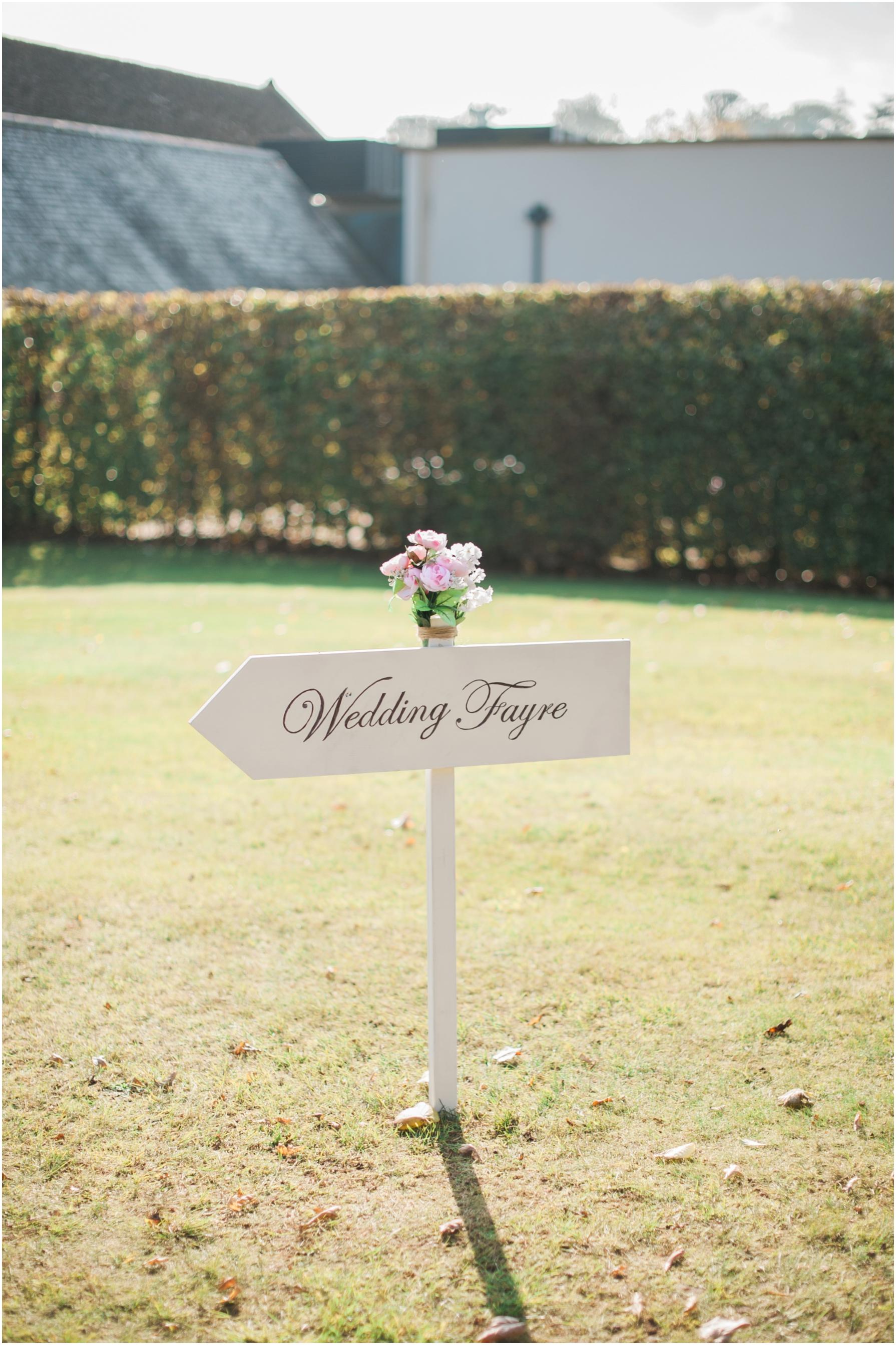 bowed house wedding fayre