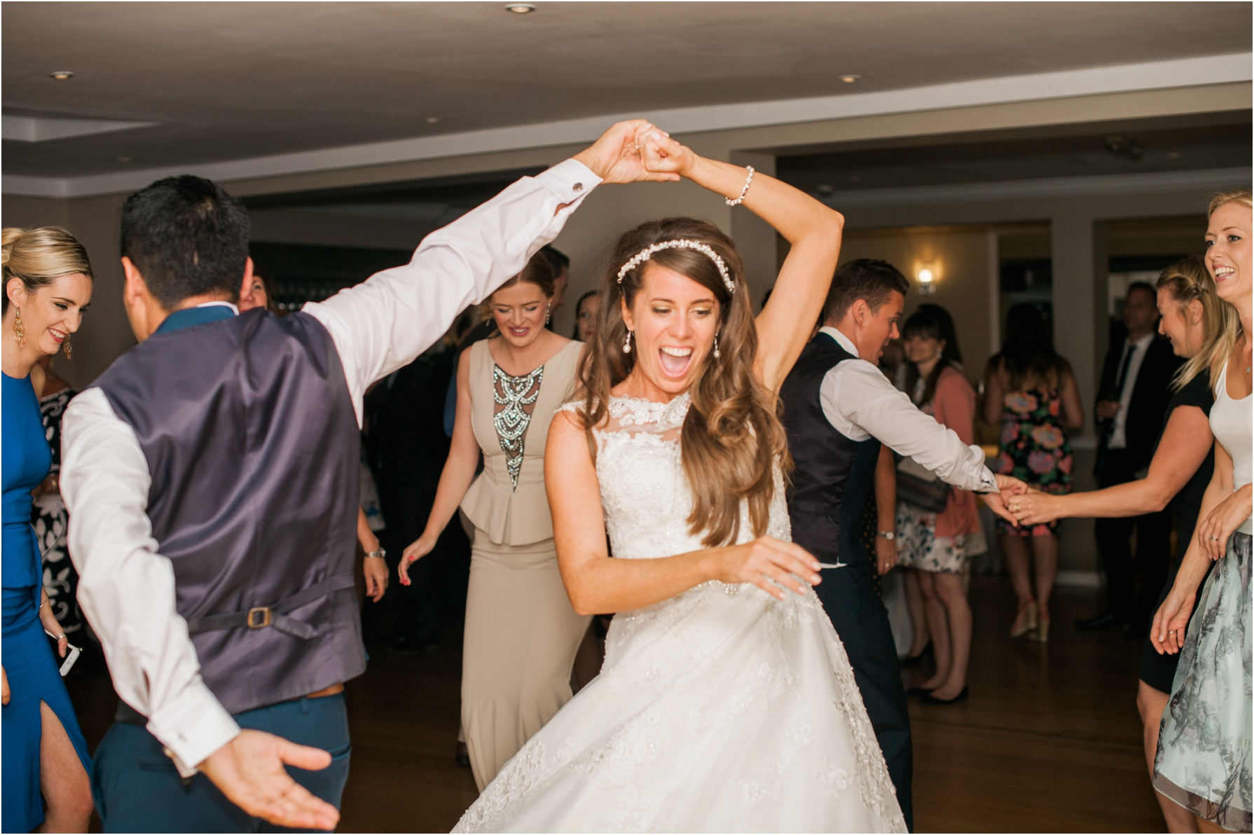 bride and groom dancing at the westwood hotel