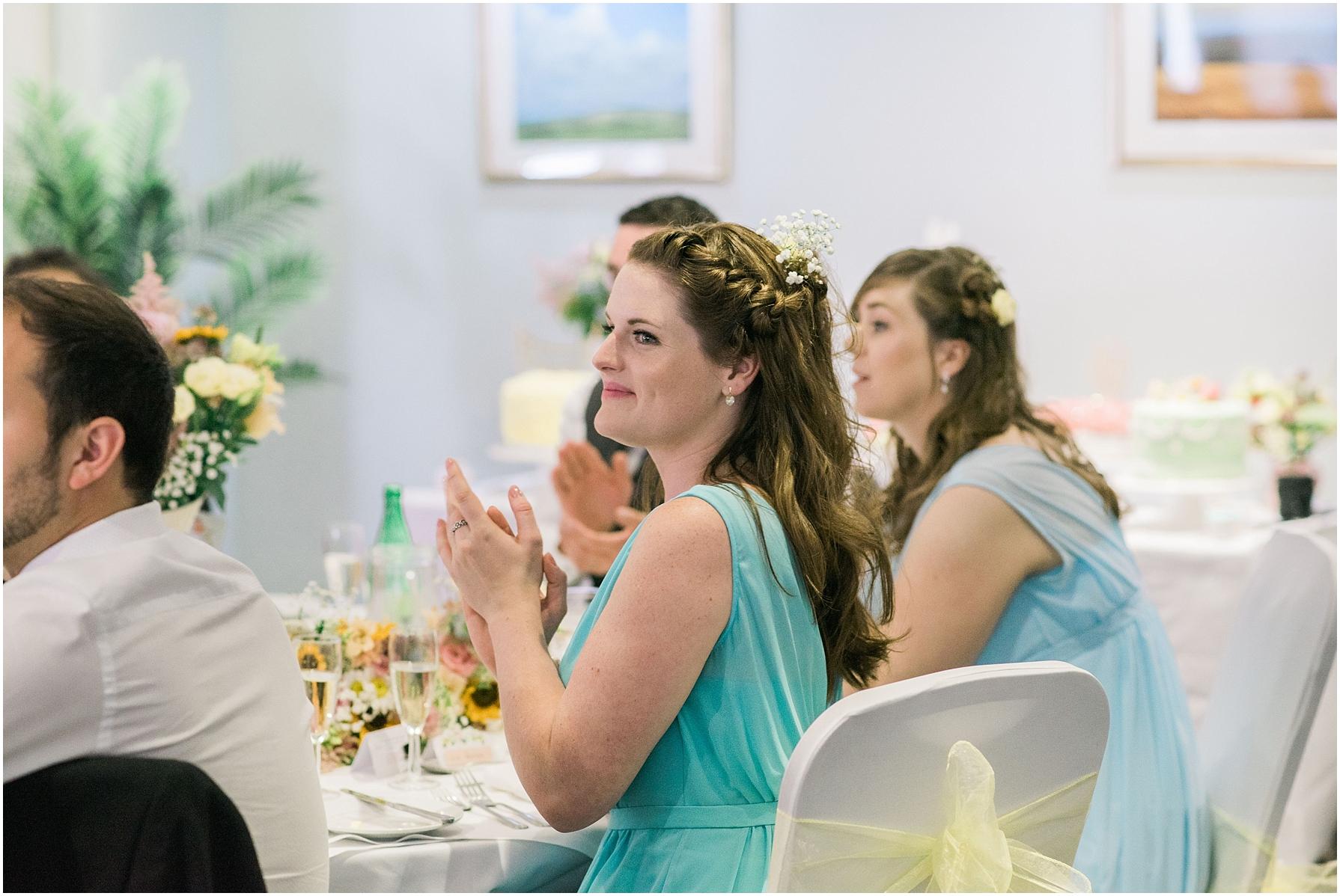 chiseldon house hotel pastel wedding