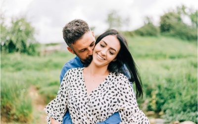 Riverside Engagement Session In Wiltshire