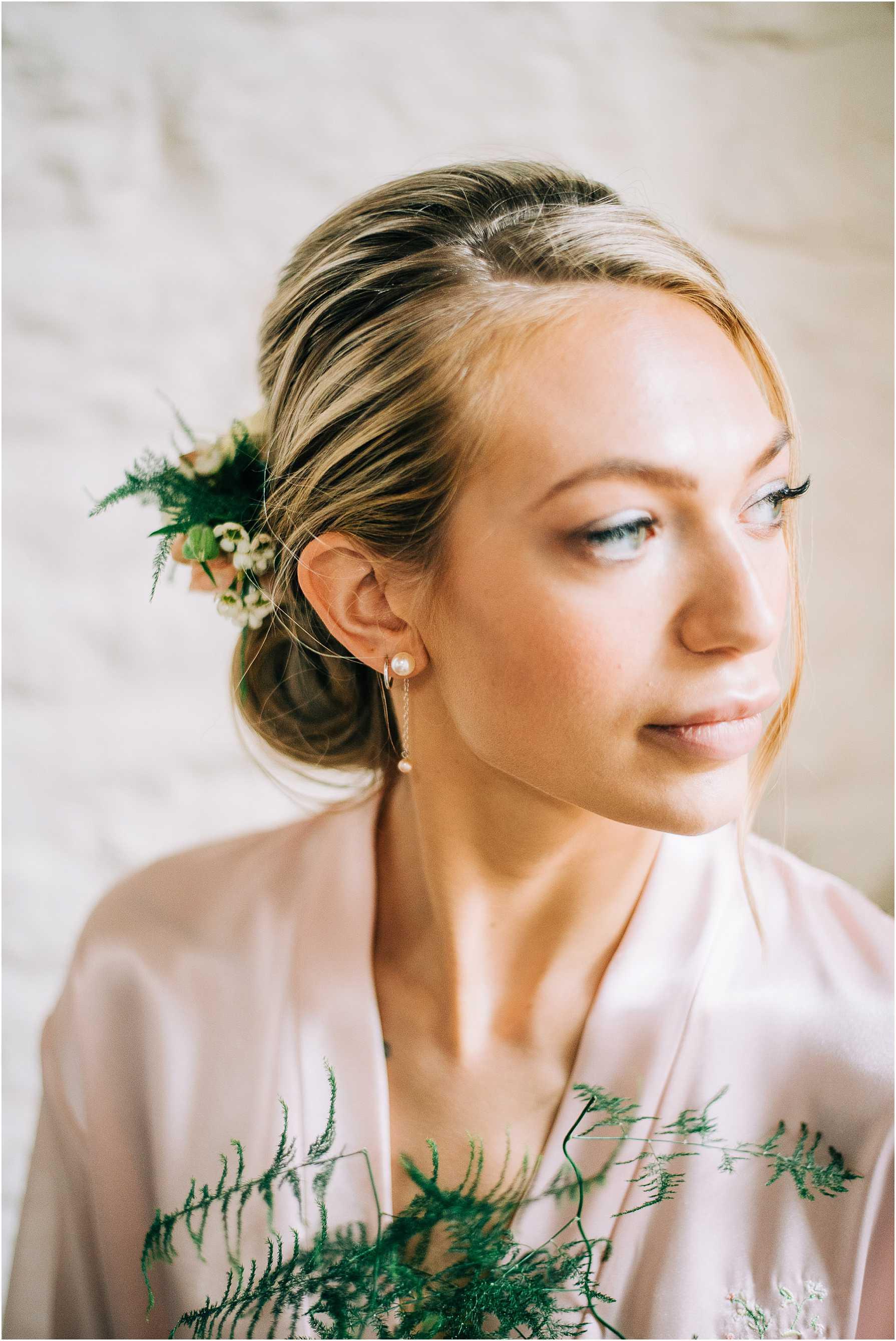 dewy wedding makeup