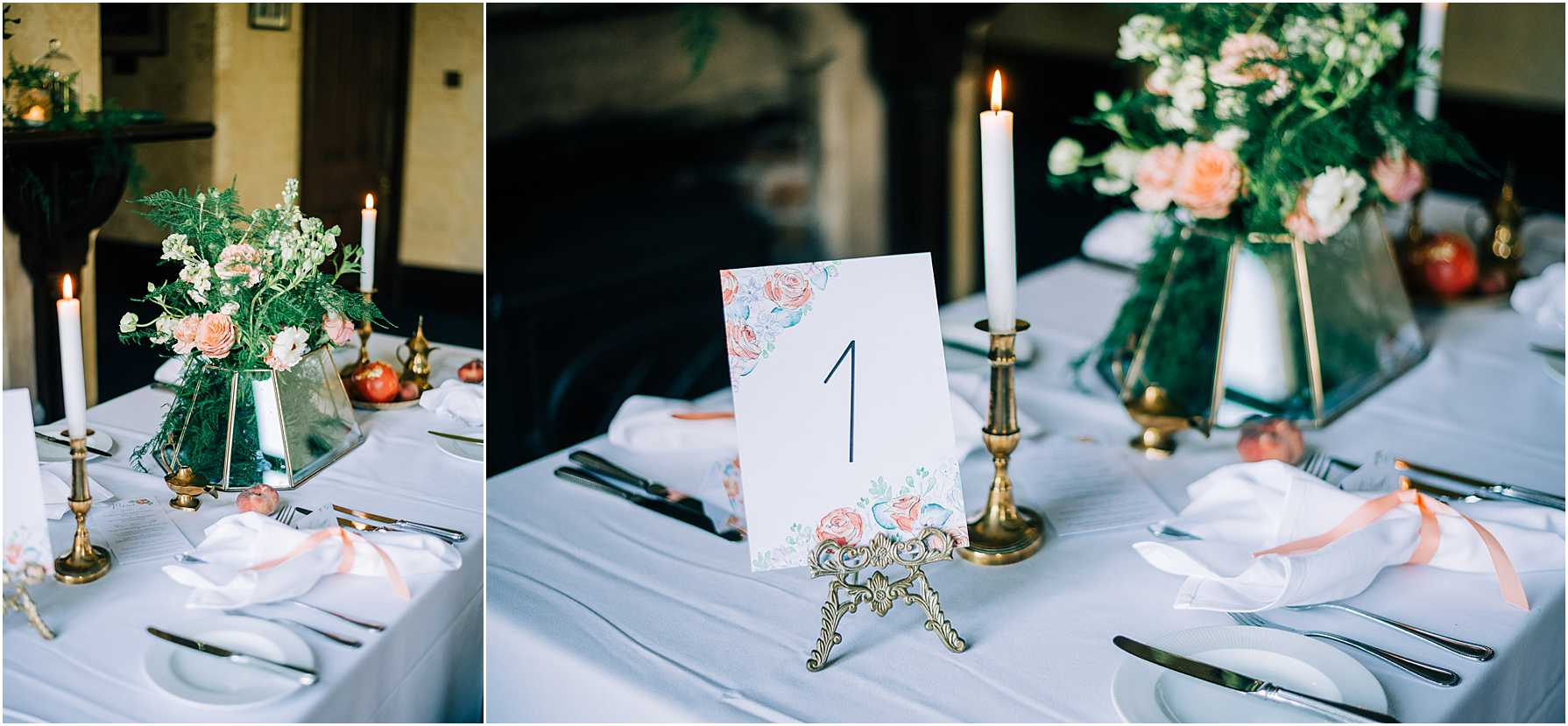 wedding breakfast tables at royal agricultural university cirencester
