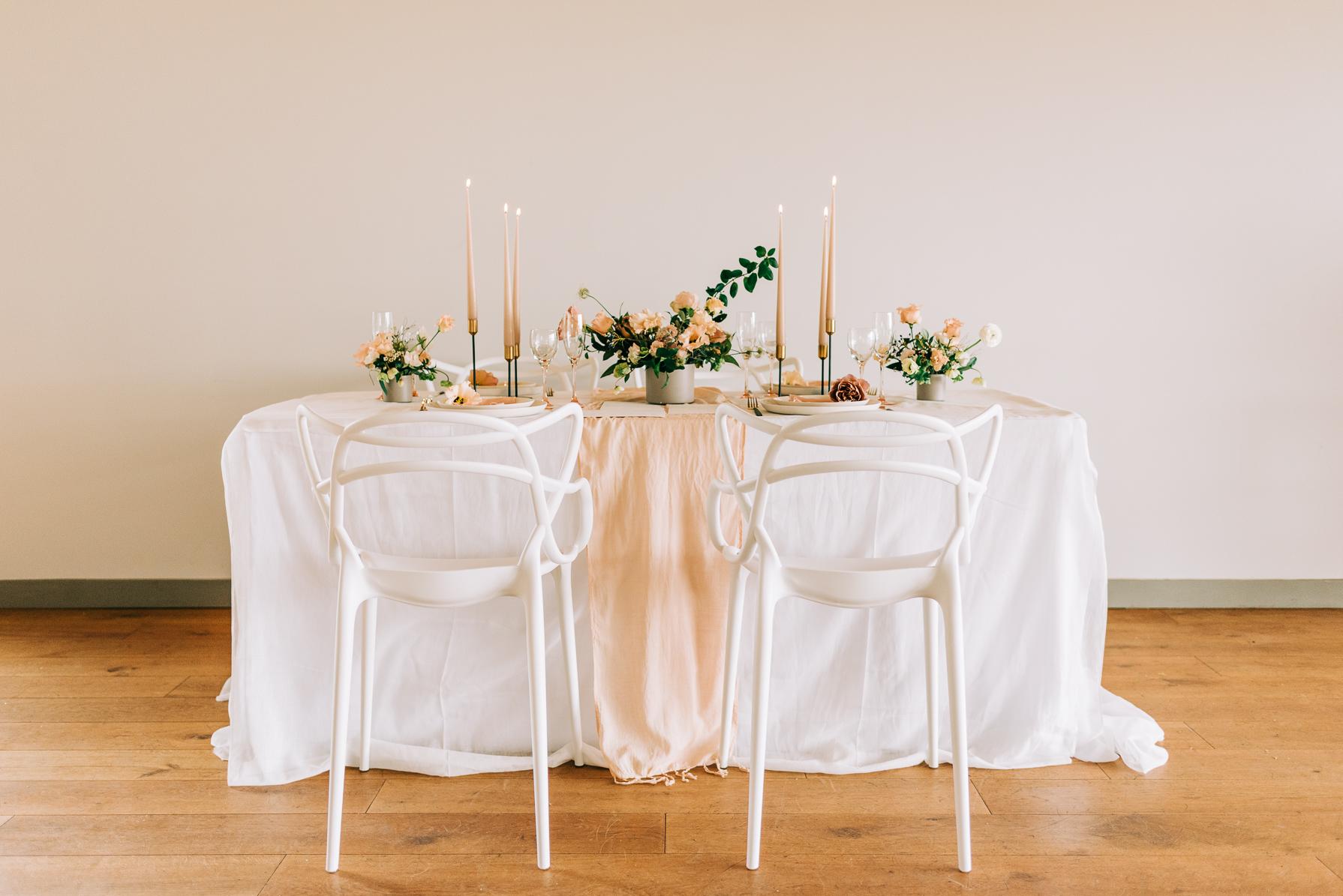 wedding breakfast tables at casterley barn